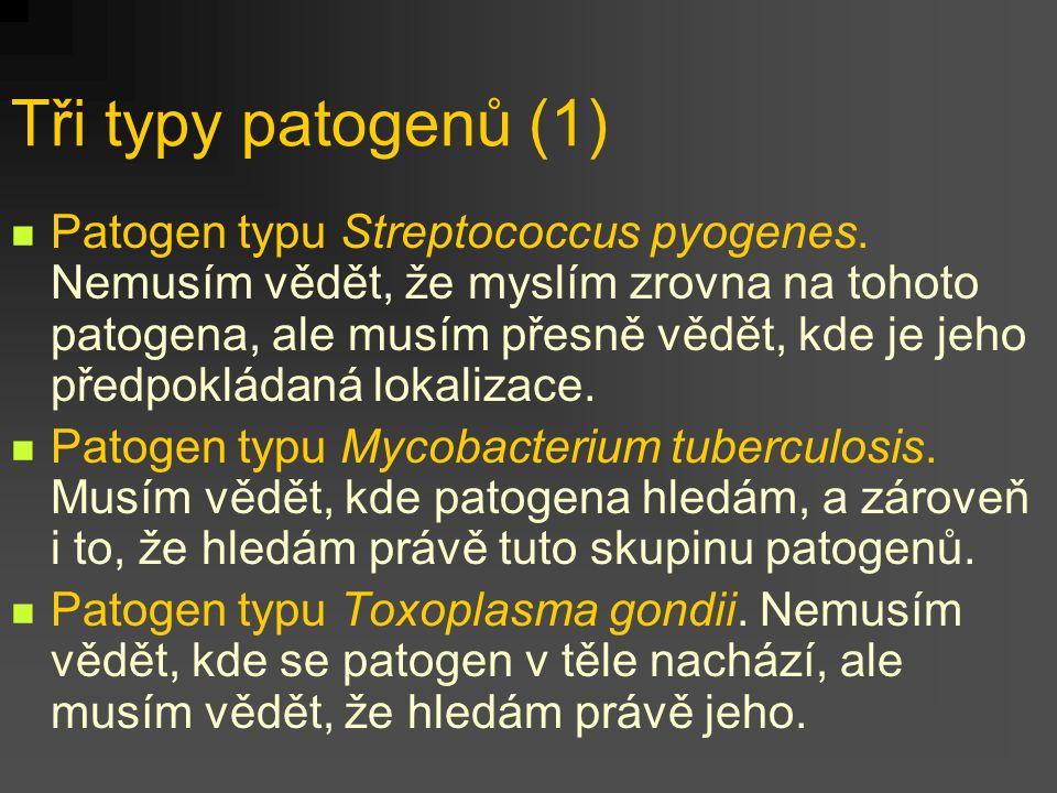 Tři typy patogenů (1)