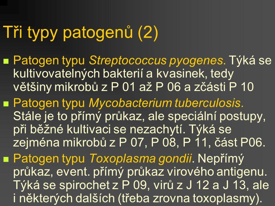 Tři typy patogenů (2)