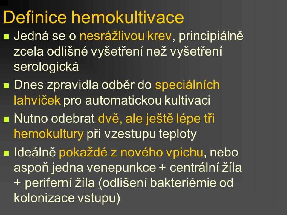 Definice hemokultivace