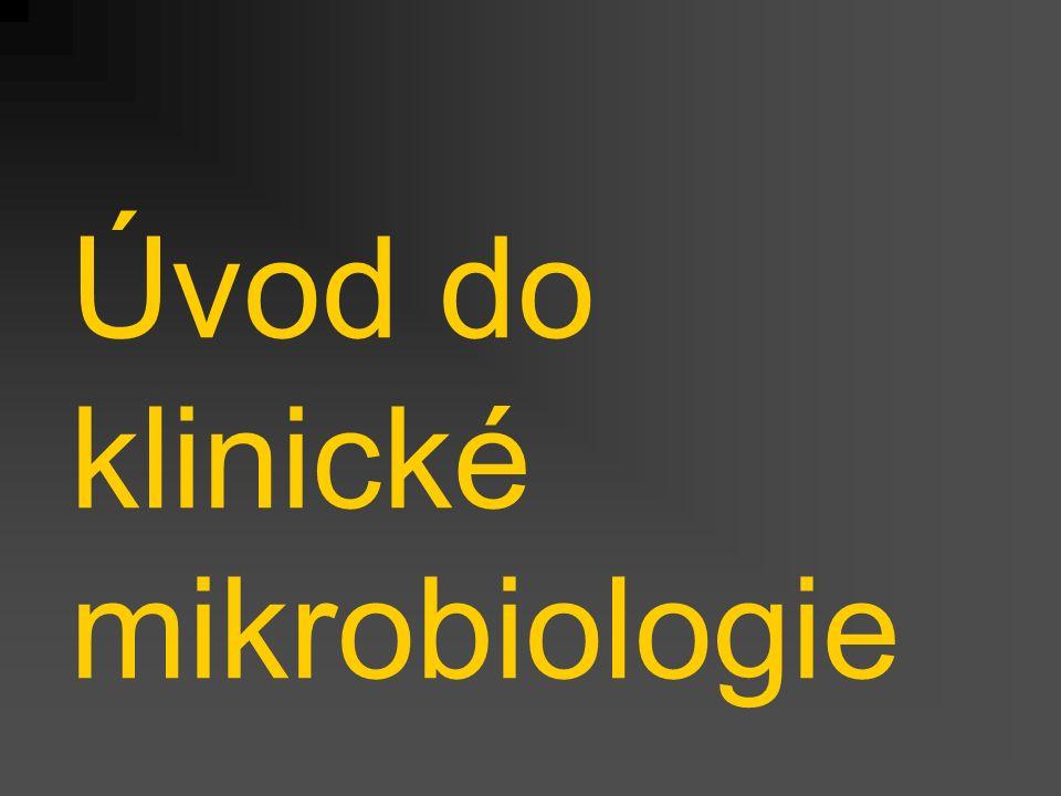 Úvod do klinické mikrobiologie