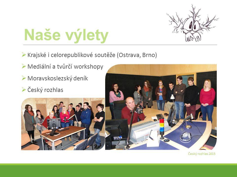 Naše výlety Krajské i celorepublikové soutěže (Ostrava, Brno)