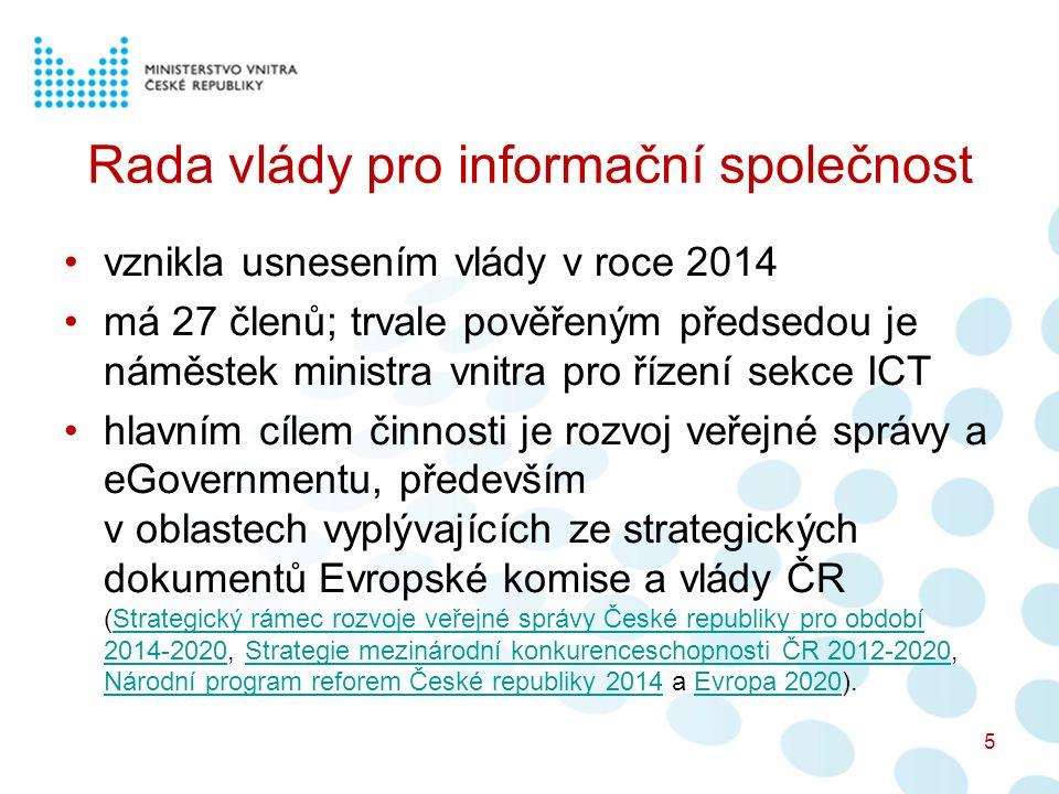 Rada vlády pro informační společnost