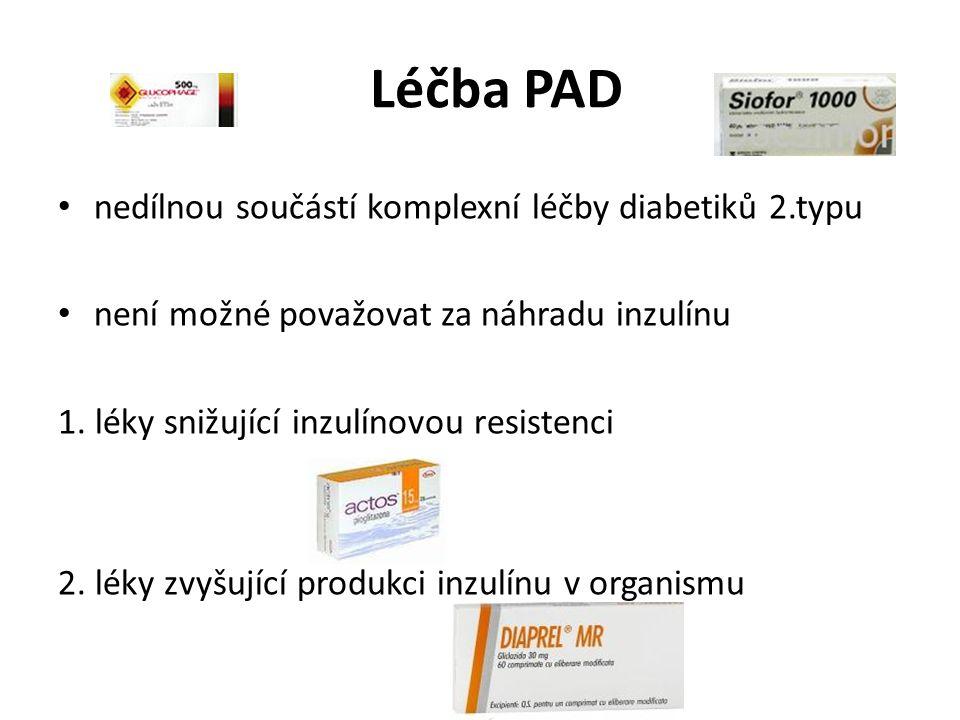 Léčba PAD nedílnou součástí komplexní léčby diabetiků 2.typu