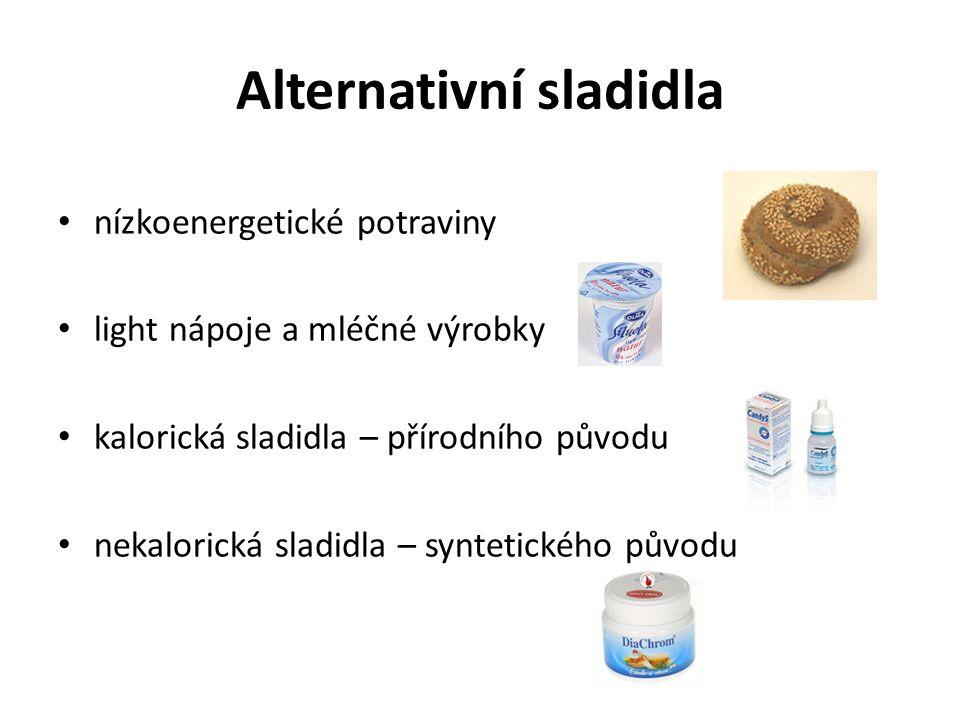 Alternativní sladidla