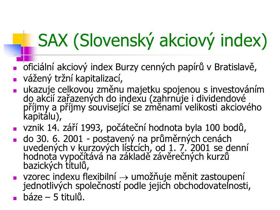 SAX (Slovenský akciový index)