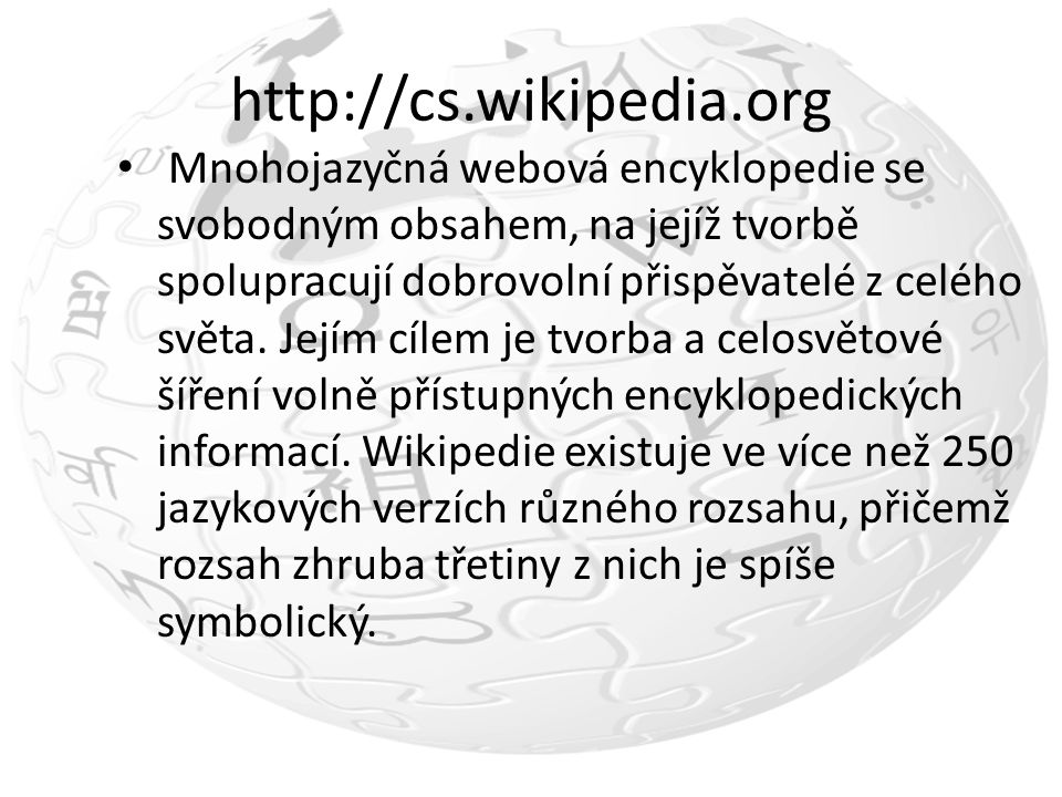 http://cs.wikipedia.org
