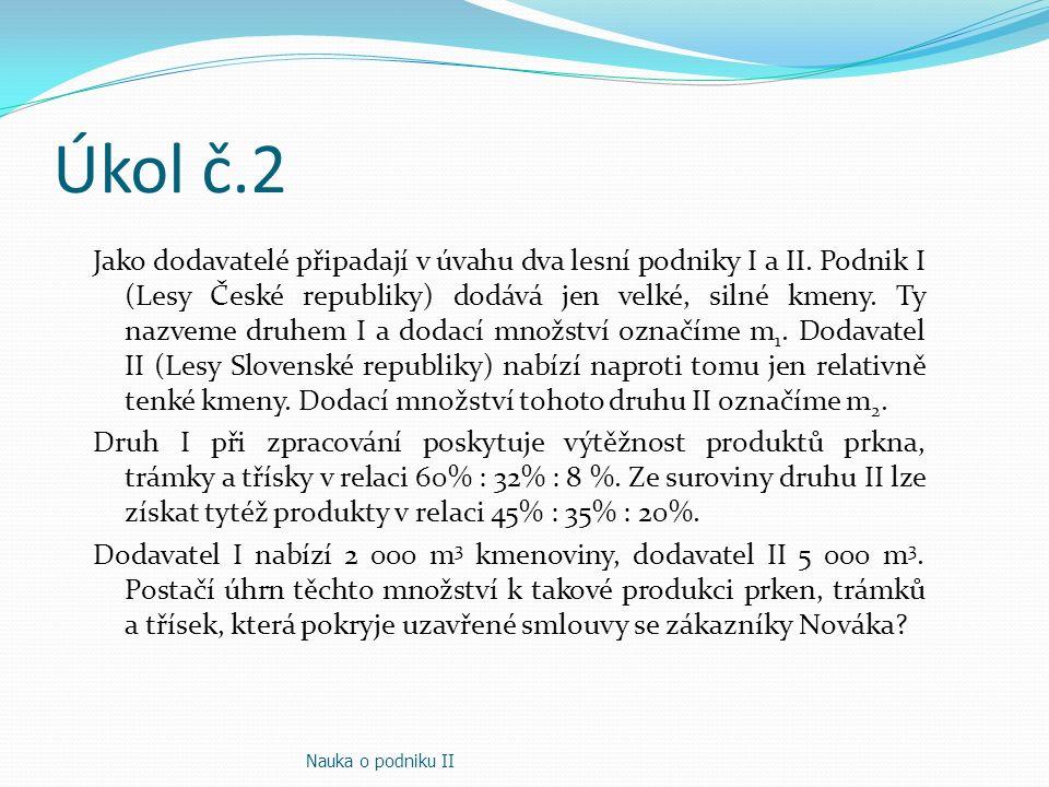 Úkol č.2