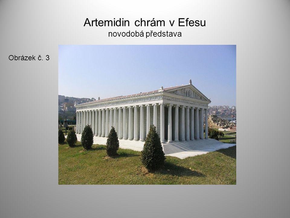 Artemidin chrám v Efesu novodobá představa