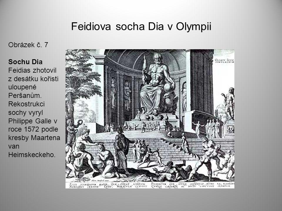Feidiova socha Dia v Olympii