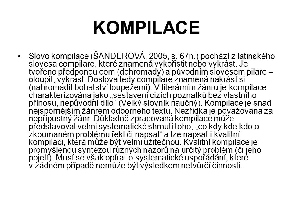 KOMPILACE