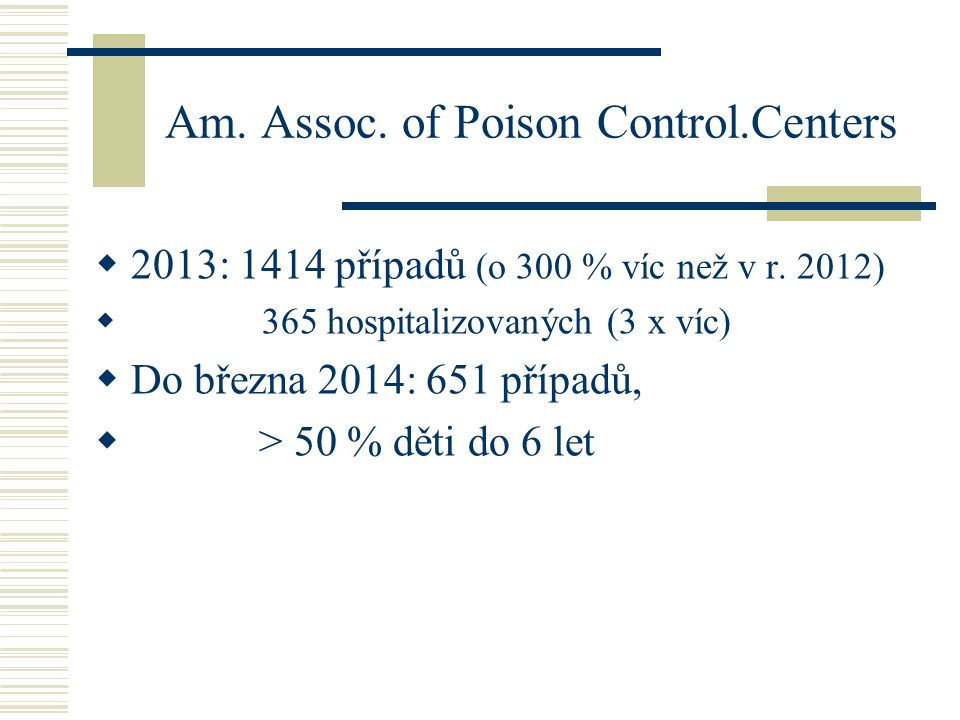 Am. Assoc. of Poison Control.Centers