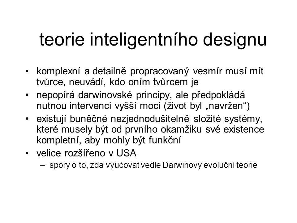 teorie inteligentního designu
