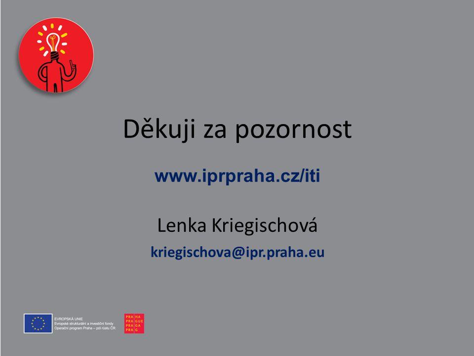 Děkuji za pozornost www. iprpraha