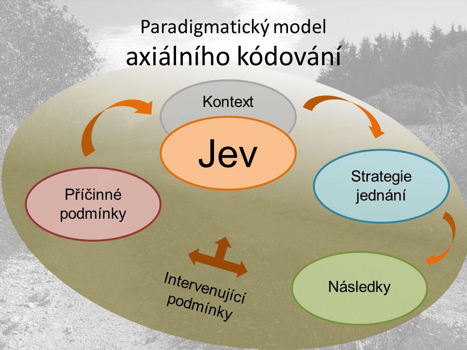 Paradigmatický model axiálního kódování