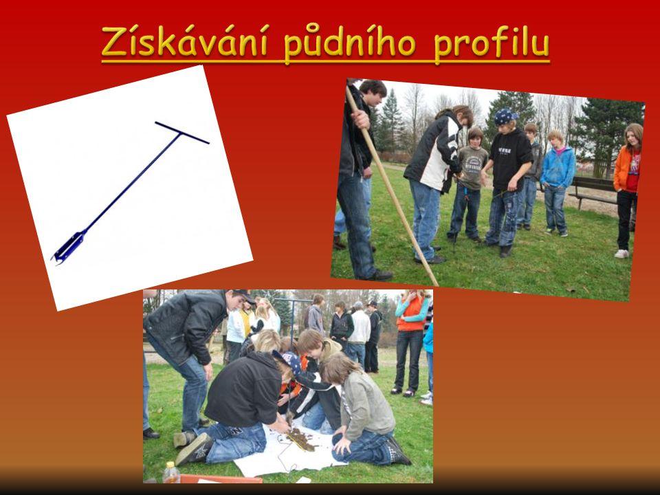 Získávání půdního profilu