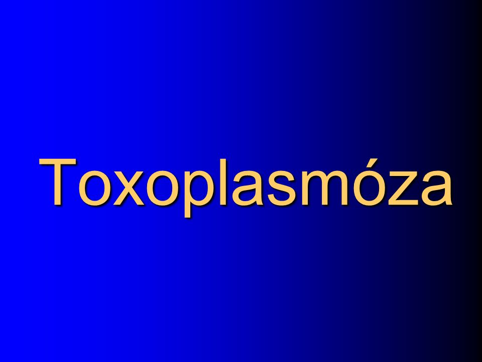 Toxoplasmóza