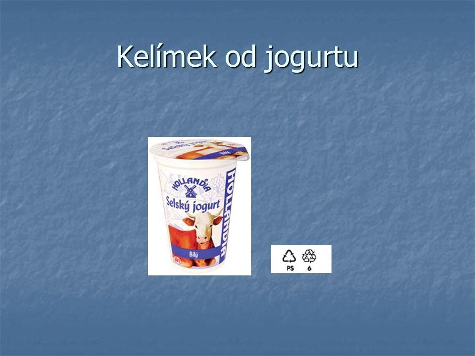 Kelímek od jogurtu