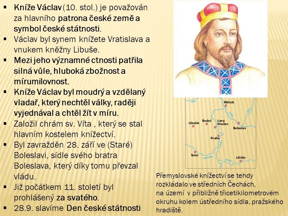 Václav byl synem knížete Vratislava a vnukem kněžny Libuše.