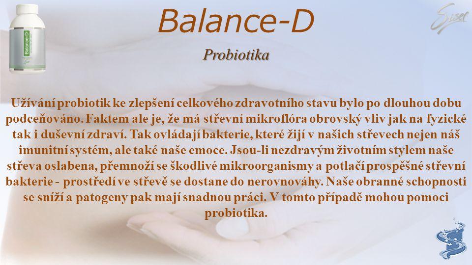 Balance-D Probiotika.