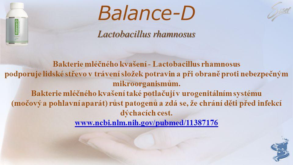 Balance-D Lactobacillus rhamnosus