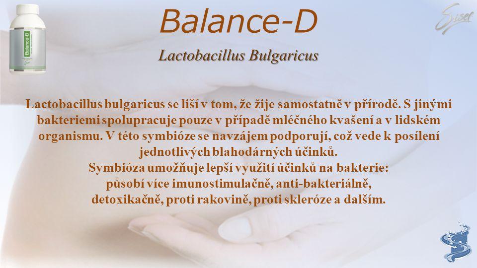 Balance-D Lactobacillus Bulgaricus