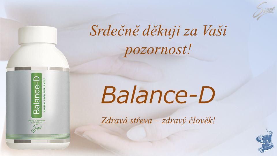 Balance-D Srdečně děkuji za Vaši pozornost!