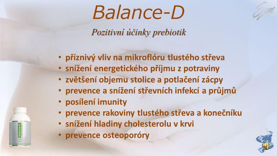Pozitivní účinky prebiotik
