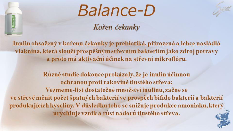 Balance-D Kořen čekanky