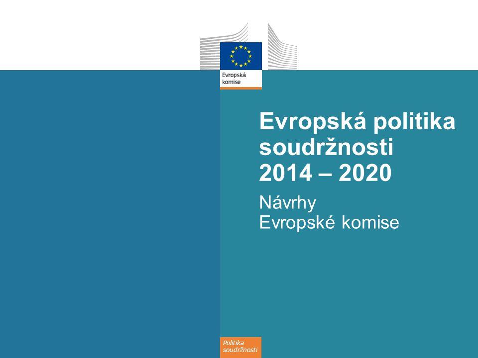 Evropská politika soudržnosti 2014 – 2020