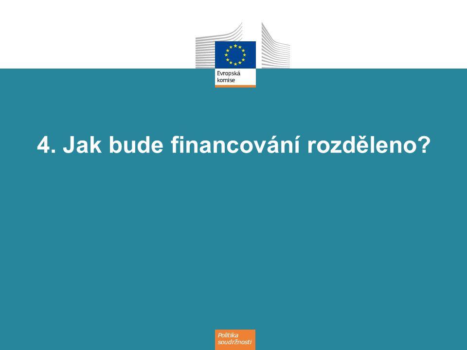 4. Jak bude financování rozděleno