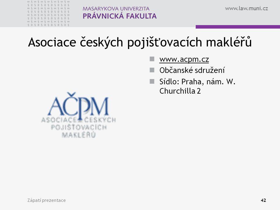 Asociace českých pojišťovacích makléřů