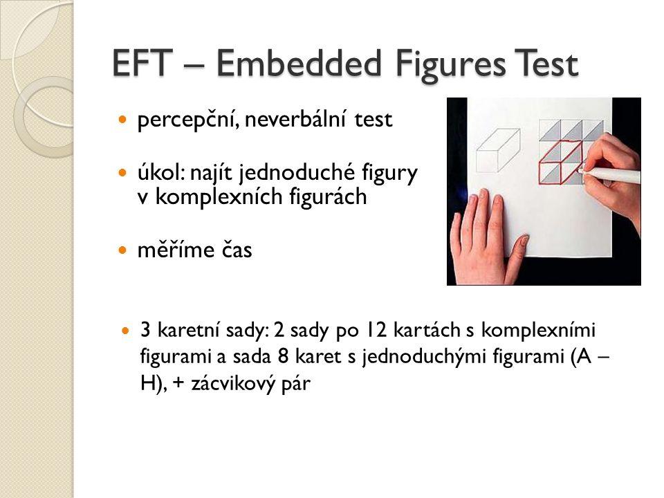 EFT – Embedded Figures Test