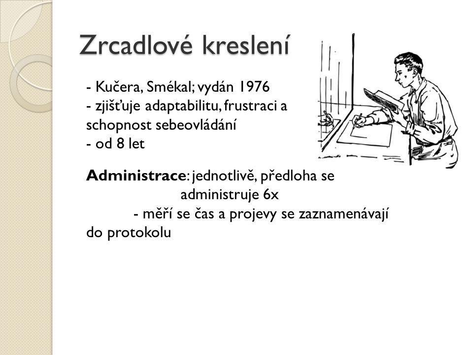 Zrcadlové kreslení Kučera, Smékal; vydán 1976
