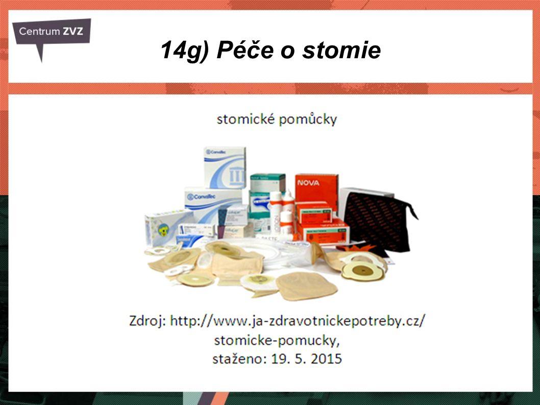 14g) Péče o stomie