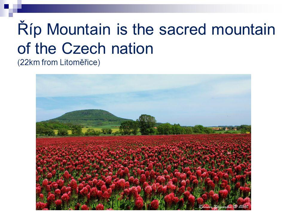 Říp Mountain is the sacred mountain of the Czech nation (22km from Litoměřice)
