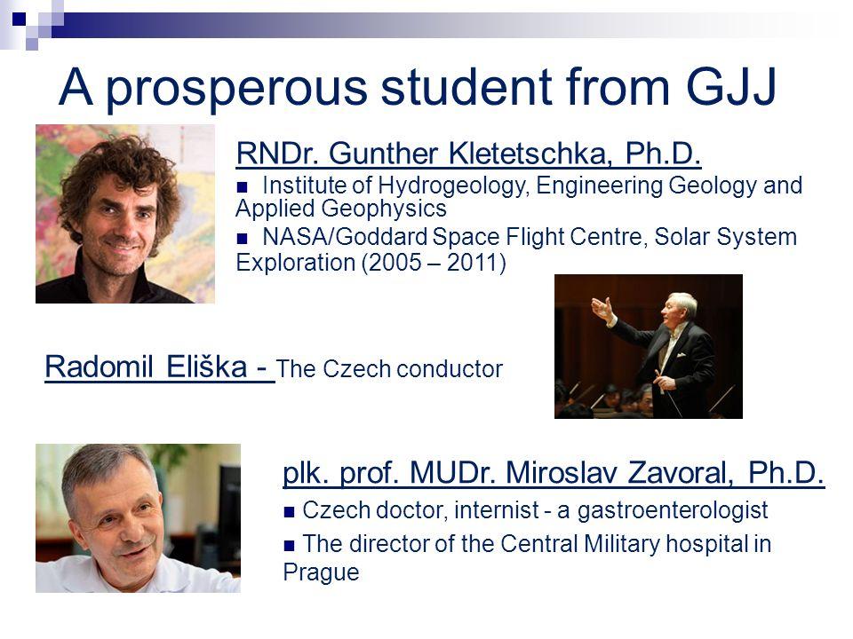 A prosperous student from GJJ