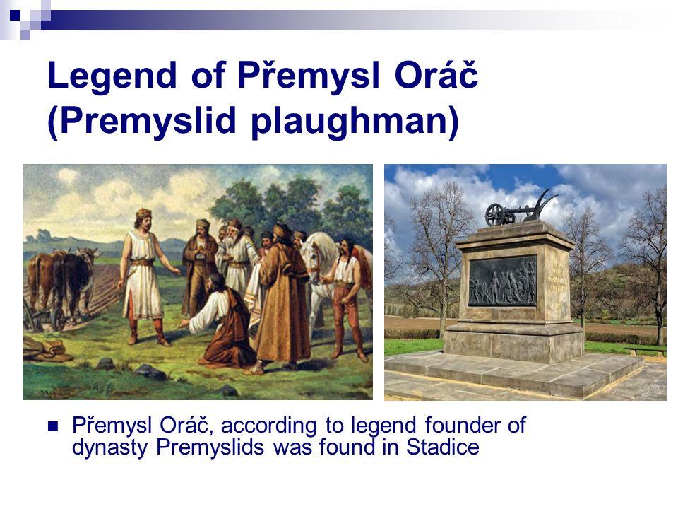 Legend of Přemysl Oráč (Premyslid plaughman)
