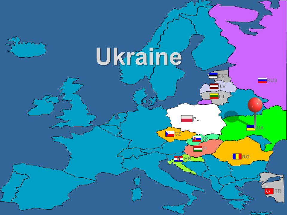 Ukraine EST RUS LV LT PL UA CZ SK H HR RO TR
