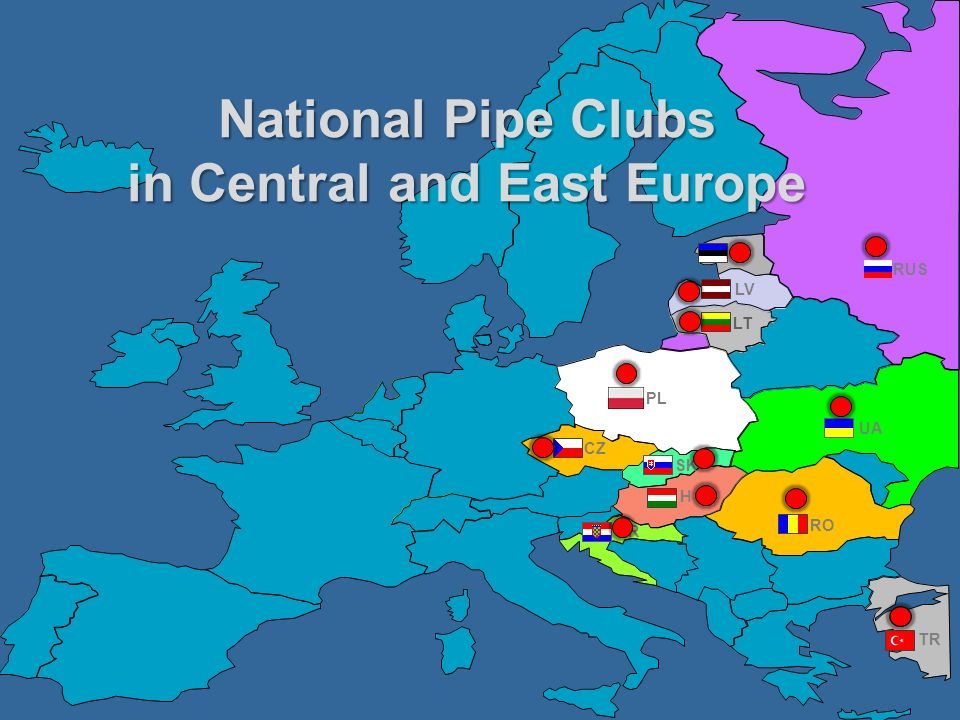 National Pipe Clubs in Central and East Europe