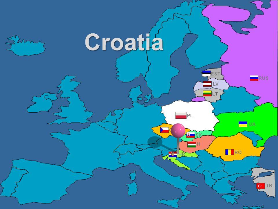 Croatia EST RUS LV LT PL UA CZ SK H HR RO TR