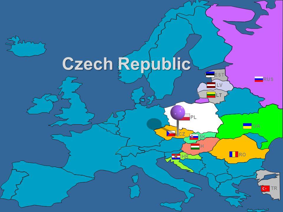 Czech Republic EST RUS LV LT PL UA CZ SK H HR RO TR