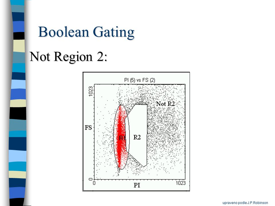 Boolean Gating Not Region 2: upraveno podle J.P.Robinson