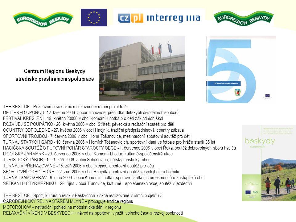 Centrum Regionu Beskydy středisko přeshraniční spolupráce