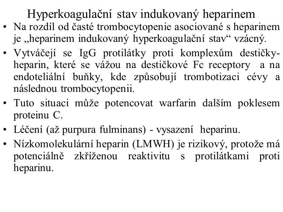 Hyperkoagulační stav indukovaný heparinem