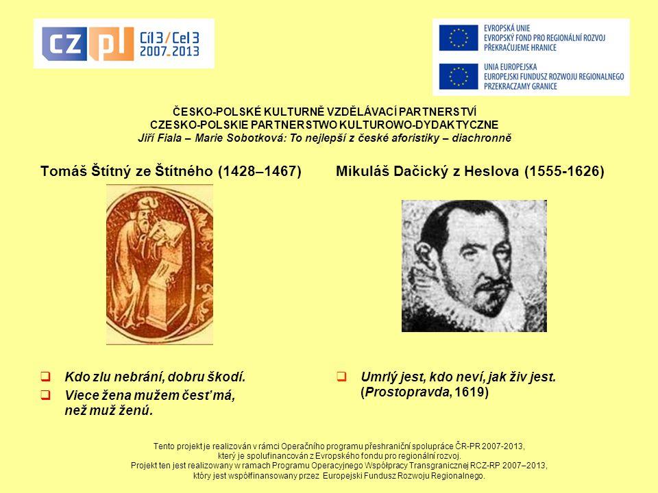 Tomáš Štítný ze Štítného (1428–1467)