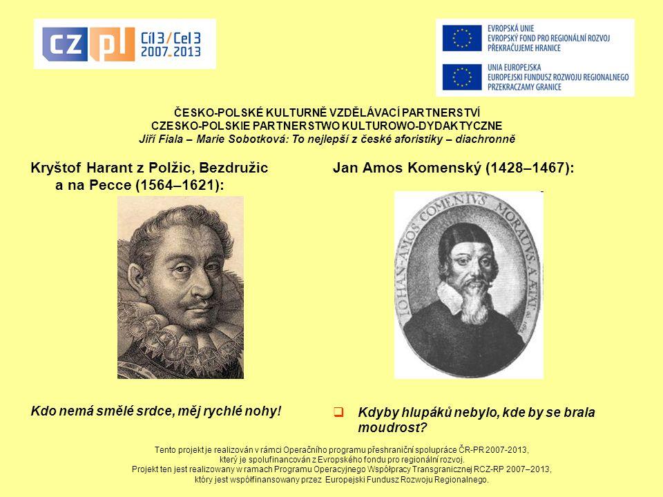 Kryštof Harant z Polžic, Bezdružic a na Pecce (1564–1621):