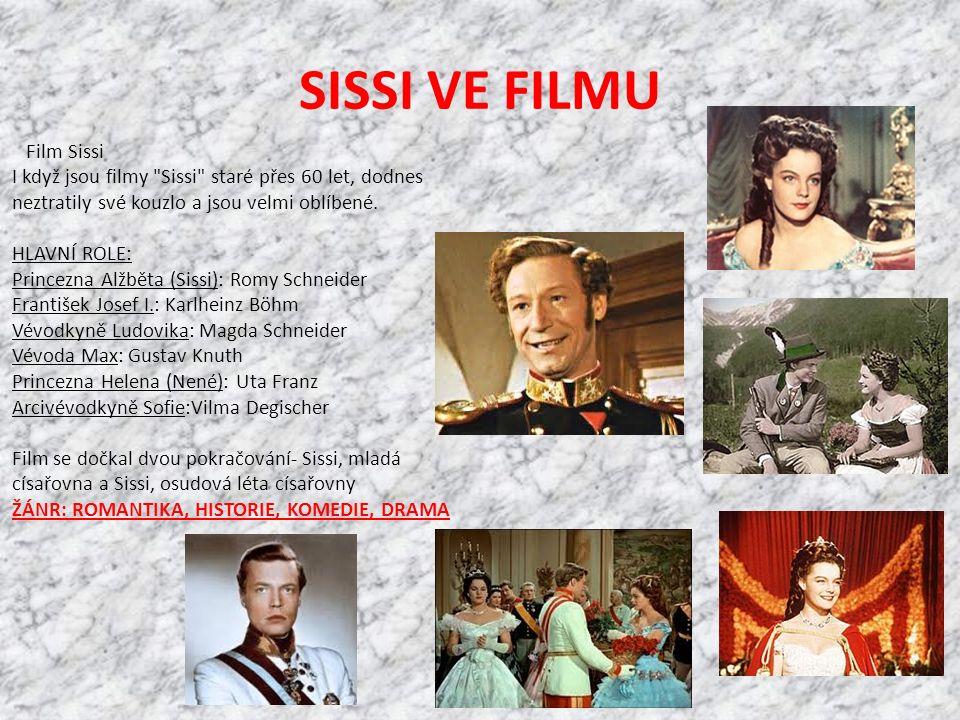 SISSI VE FILMU Film Sissi