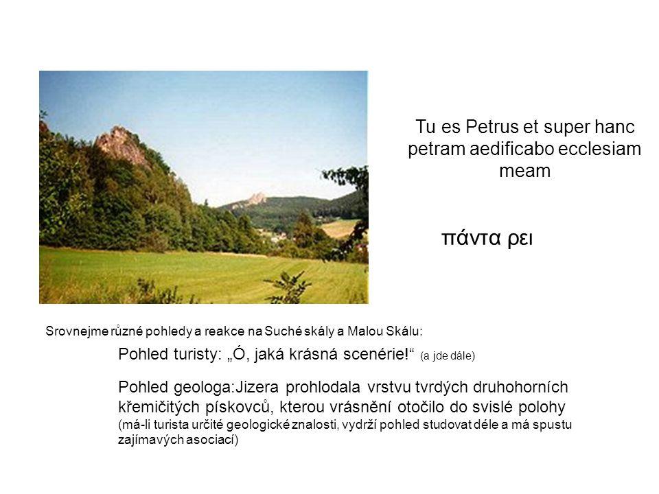 πάντα ρει Tu es Petrus et super hanc petram aedificabo ecclesiam meam