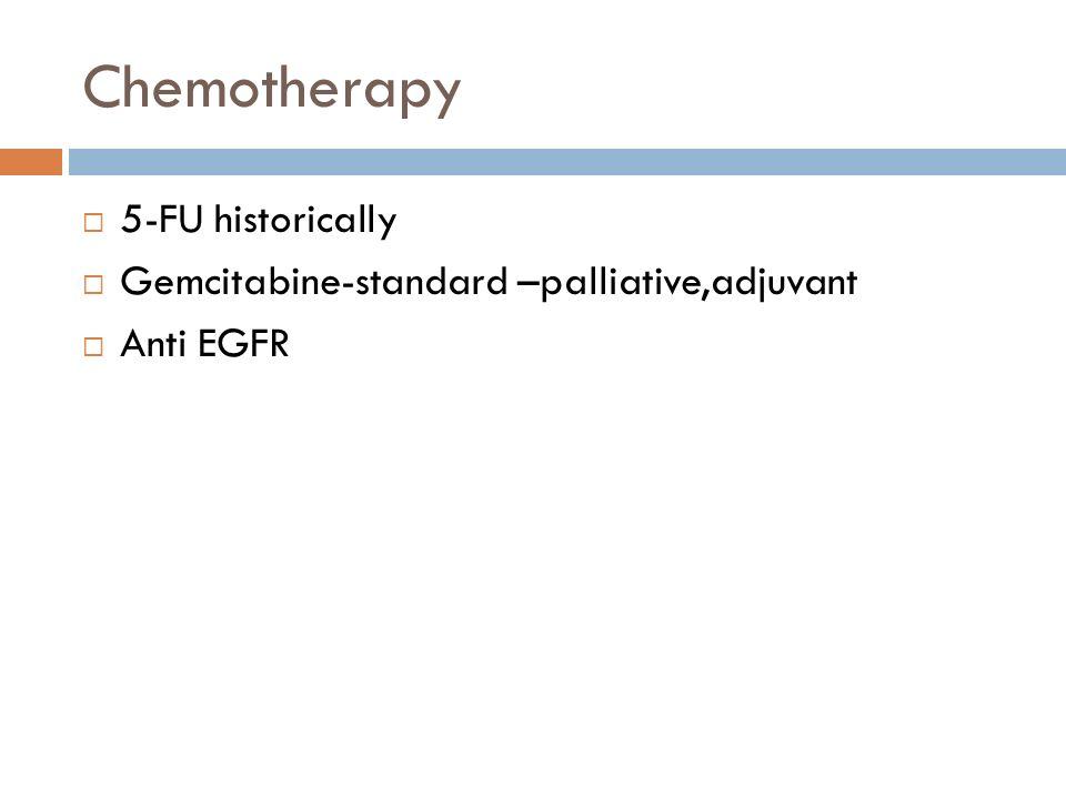 Chemotherapy 5-FU historically