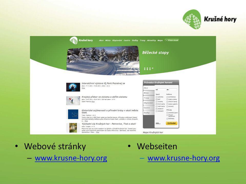 Webové stránky www.krusne-hory.org Webseiten www.krusne-hory.org